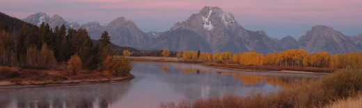 Oxbow in Grand Teton National Park